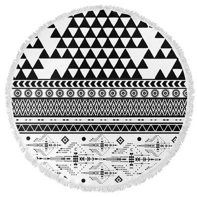 Moroccan Round Beach Towel