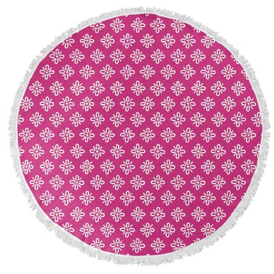 Boomboom Round Beach Towel