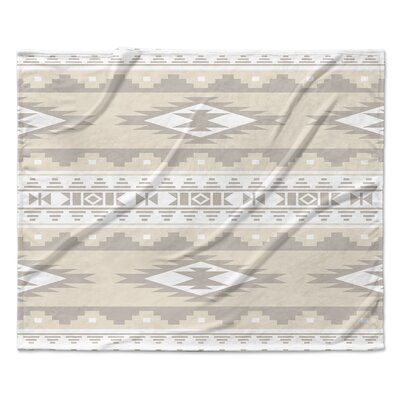 Cheroke Fleece Throw Blanket Size: 90 W x 90 L, Color: Brown