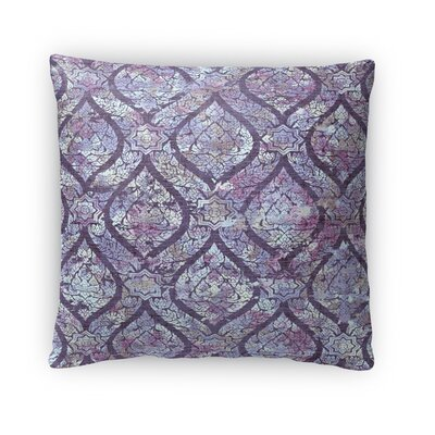 Rain Throw Pillow Size: 16 H x 16 W x 4 D