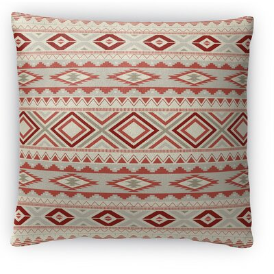 Cabarley Fleece Throw Pillow Size: 18 H x 18 W x 4 D, Color: Tan