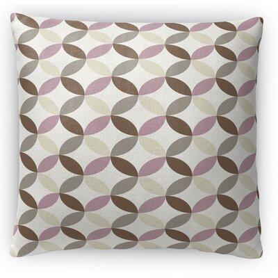 Oaisis Fleece Throw Pillow Size: 18 H x 18 W x 4 D