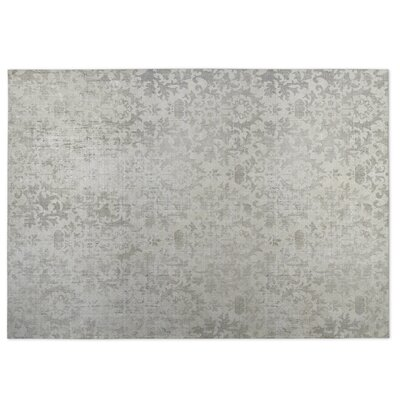 Faded Damask Indoor/Outdoor Doormat