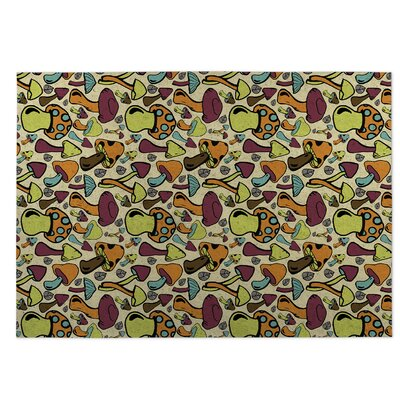 Mushroom Field Indoor/Outdoor Doormat