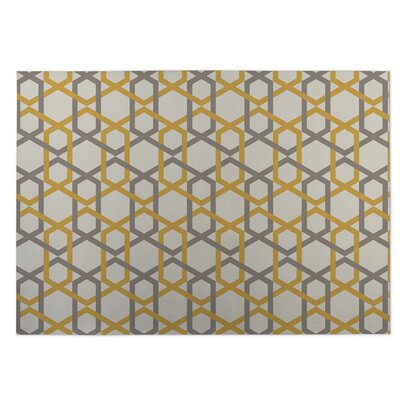 Sliding Hexagon Indoor/Outdoor Doormat