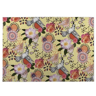 Dream of Garden Indoor/Outdoor Doormat