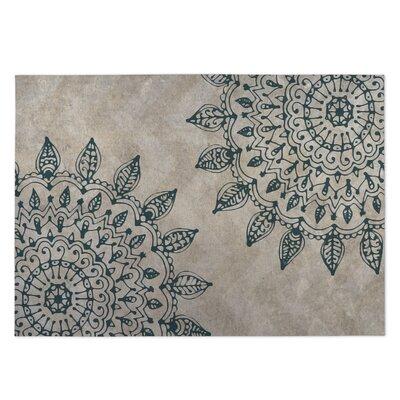 Beige Indoor/Outdoor Doormat Rug Size: Rectangle 5 x 7