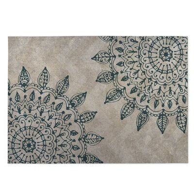Beige Indoor/Outdoor Doormat Mat Size: Rectangle 4 x 5