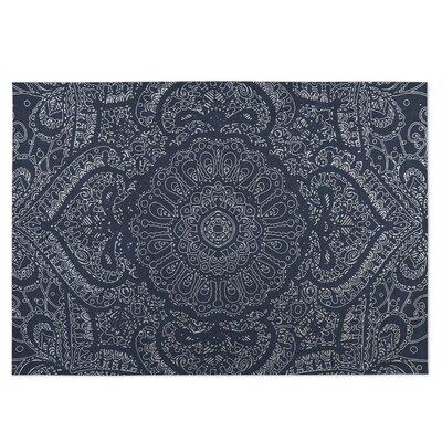 Blue Indoor/Outdoor Doormat Rug Size: Rectangle 8 x 10