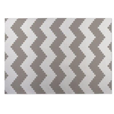 Play Chevron Beige/Brown Indoor/Outdoor Doormat Rug Size: 8 x 10