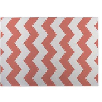 Play Chevron Pink Indoor/Outdoor Doormat Rug Size: 8 x 10