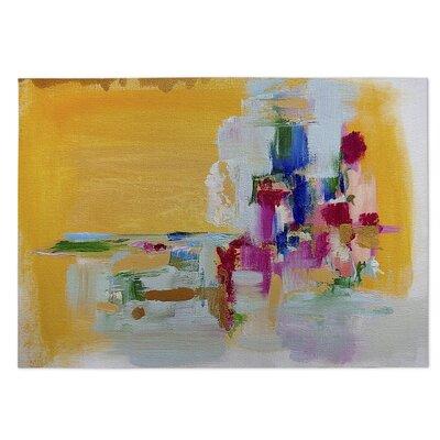 Suggestive Stilettos Yellow Indoor/Outdoor Doormat Rug Size: 4 x 5