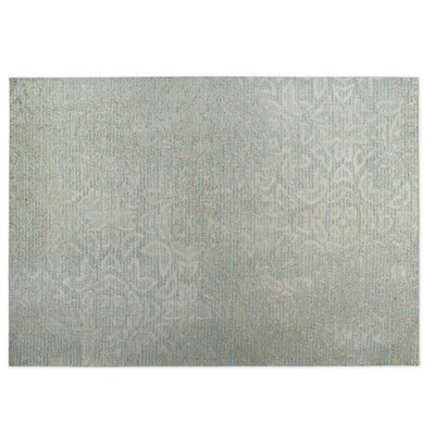 Norwich Gray Indoor/Outdoor Doormat Rug Size: 5 x 7