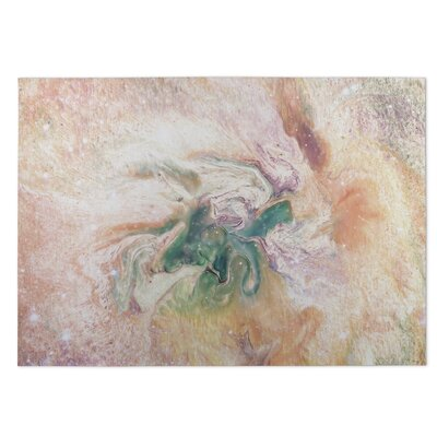 Marble Nebula Utility Mat Mat Size: Rectangle 5 x 7