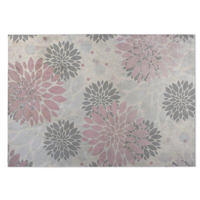 Bloom Pink/Gray Indoor/Outdoor Doormat Rug Size: 8 x 10