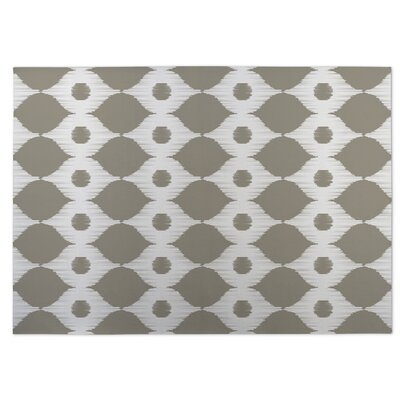 Forest Rain Gray/Beige Indoor/Outdoor Doormat Rug Size: 4 x 5