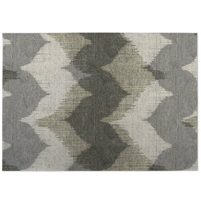 Bodhi Indoor/Outdoor Doormat Color: Ivory/ Grey