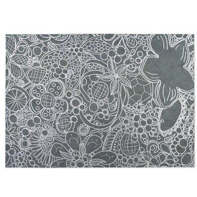 Expressions Indoor/Outdoor Doormat Color: Gray