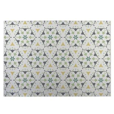 Kaleidoscope Indoor/Outdoor Doormat Color: Gray