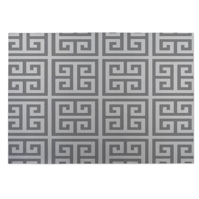 Ginger Indoor/Outdoor Doormat Color: Grey