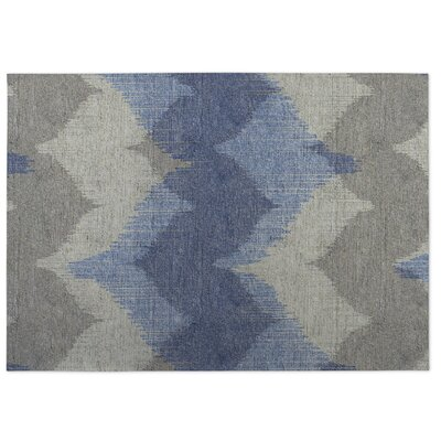 Bodhi Indoor/Outdoor Doormat Color: Grey/ Blue