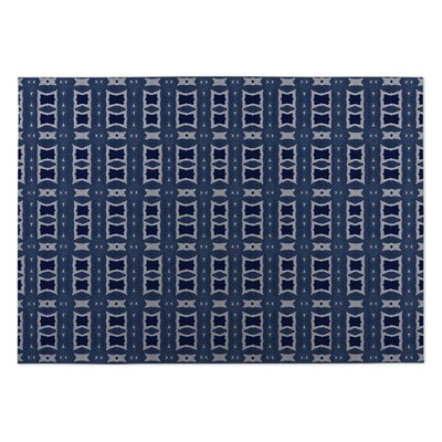 Crossroads Indoor/Outdoor Doormat Color: Navy