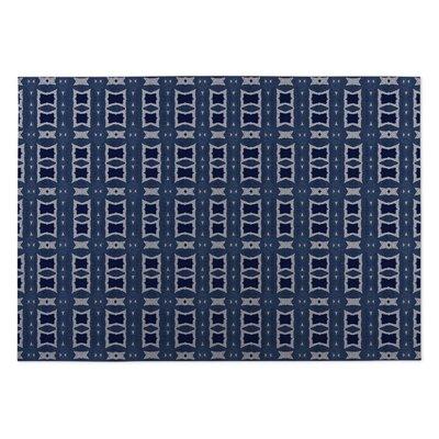 Crossroads Indoor/Outdoor Doormat Color: Navy