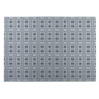 Crossroads Indoor/Outdoor Doormat Color: Light Blue