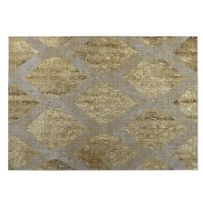 Ascent Beige Indoor/Outdoor Doormat Rug Size: Square 8