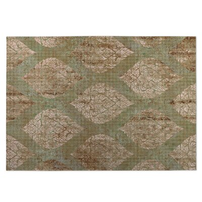 Ascent Brown/Green Indoor/Outdoor Doormat Rug Size: 8 x 10