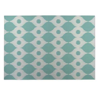Forest Rain Green Indoor/Outdoor Doormat Rug Size: 8 x 10