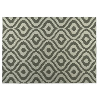 Green Indoor/Outdoor Doormat Rug Size: 5 x 7