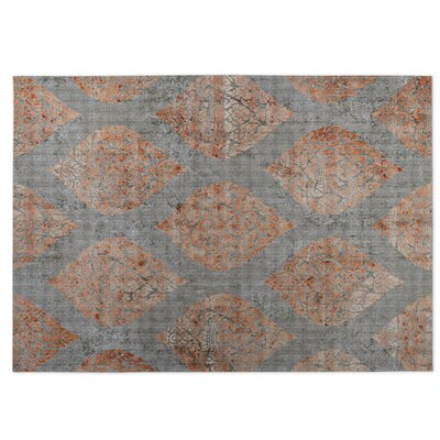 Ascent Gray/Brown Indoor/Outdoor Doormat Rug Size: Square 8