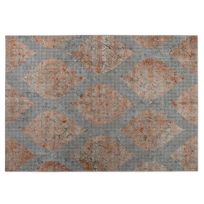 Ascent Gray/Brown Indoor/Outdoor Doormat Rug Size: 5 x 7