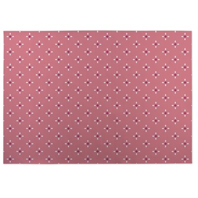 Nightscape Pink Indoor/Outdoor Doormat Rug Size: Square 8