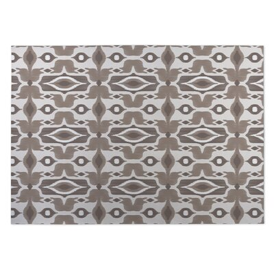 Mojave Brown Indoor/Outdoor Doormat Rug Size: 8 x 10