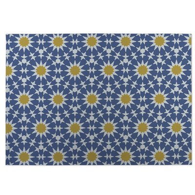 Sun Burst Utility Mat Rug Size: Rectangle 8 x 10
