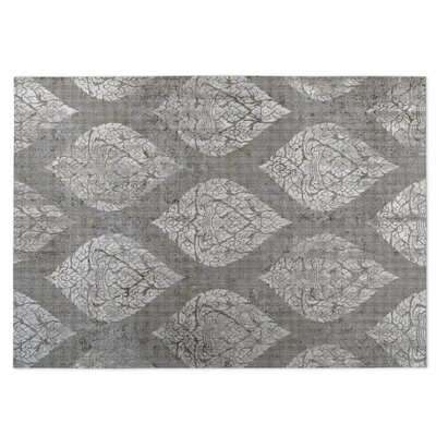 Ascent Gray Indoor/Outdoor Doormat Rug Size: 5 x 7