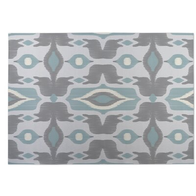 Cosmos Indoor/Outdoor Doormat Color: Light Blue