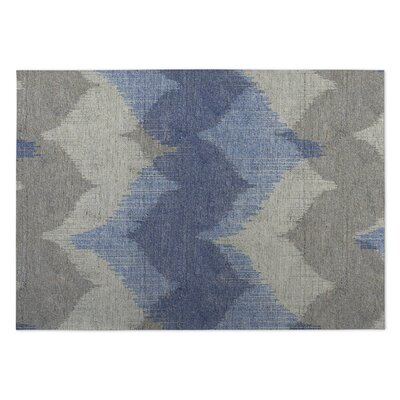 Bodhi Blue/Beige Indoor/Outdoor Doormat Mat Size: Rectangle 4 x 5