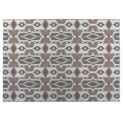 Mojave Beige/Brown Indoor/Outdoor Doormat Rug Size: 8 x 10