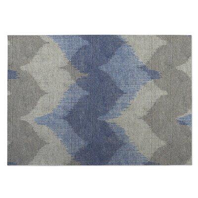 Bodhi Blue/Beige Indoor/Outdoor Doormat Rug Size: 5 x 7