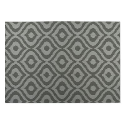 Gray Indoor/Outdoor Doormat Rug Size: 5' x 7'