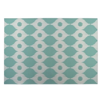 Forest Rain Utility Mat Rug Size: Square 8