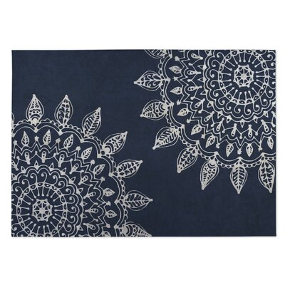 Blue Indoor/Outdoor Doormat Mat Size: Square 8