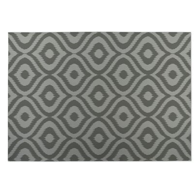 Gray Indoor/Outdoor Doormat Rug Size: 8' x 10'