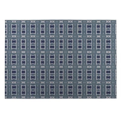 Crossroads Blue Indoor/Outdoor Doormat Rug Size: 8 x 10