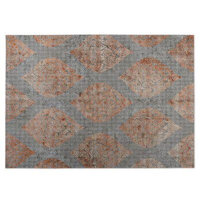 Ascent Indoor/Outdoor Doormat Color: Gray/Spice