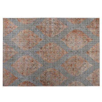 Ascent Indoor/Outdoor Doormat Color: Gray/Spice
