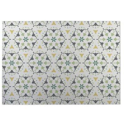 Green Indoor/Outdoor Doormat Rug Size: 8 x 10